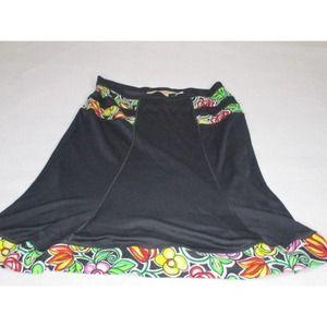 Blumarine Silk Rayon Skirt Made in Italy